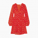 Robe Gemma Red Ditsy Thorn