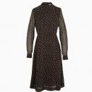 Robe Printed Georgette Midi