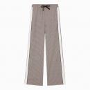 Pantalon Elastiqué à Carreaux