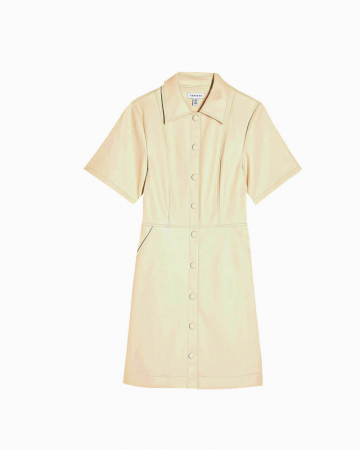 Robe Shirt Blanche