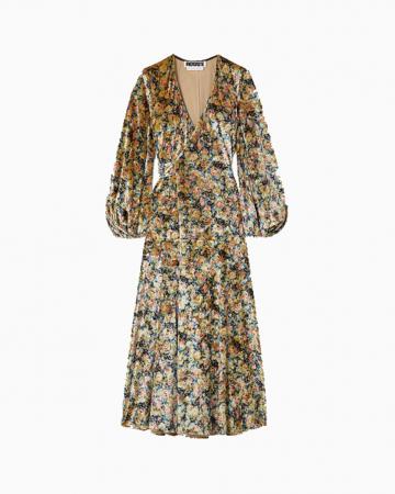 Robe Beatrix Jaune