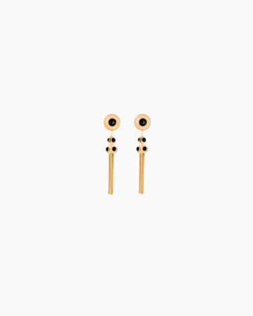 Boucles d'oreilles Pom Pom