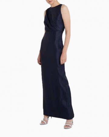 Robe foil Bertillia Bleu