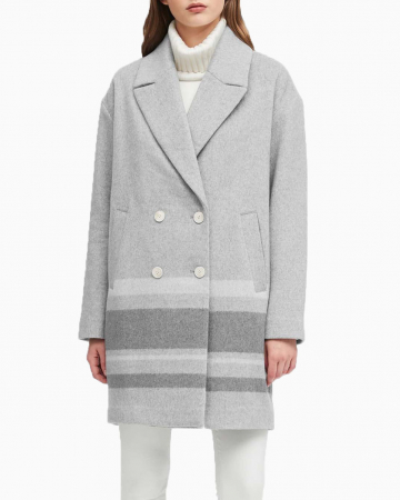 Manteau Cocon Gris