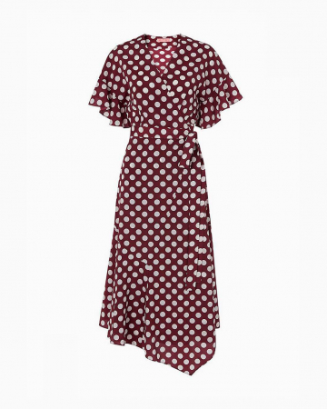 Eliana Polka Dot Dress