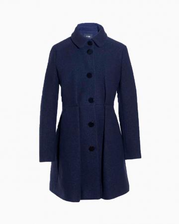 Manteau Wool Marine