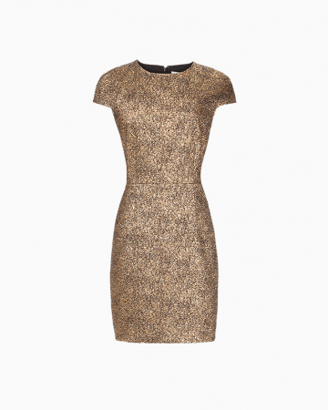 Gold Hadlie dress