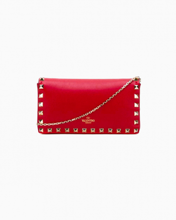 Red Rockstud Purse