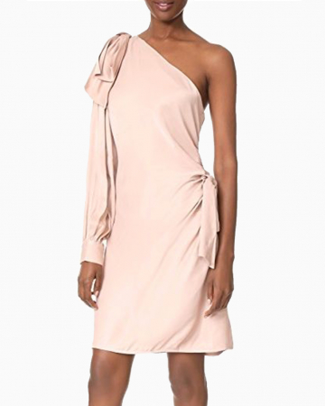 Blush Maples Bow dress