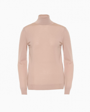 Pull Turtle Neck Loose Rose