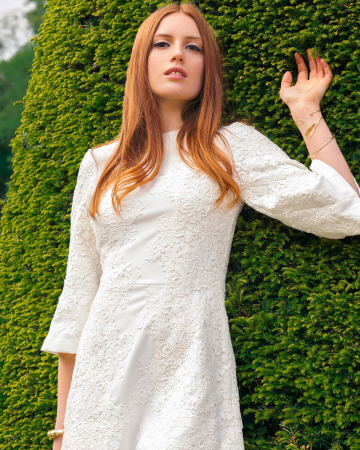 Robe Broderie Anglaise