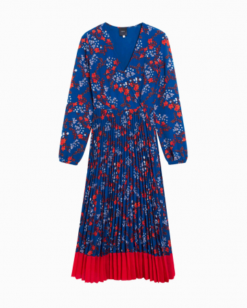 Robe Cerise Blue