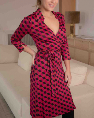 Robe New Julian Geometric Mauve