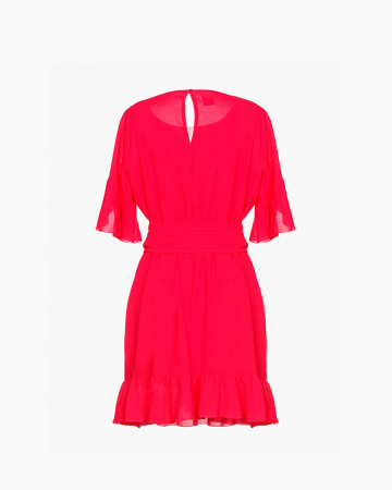 Robe Fucshia Volants