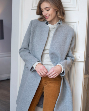 Manteau Teresa Grey