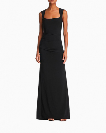 Robe Ruched Jersey Gown