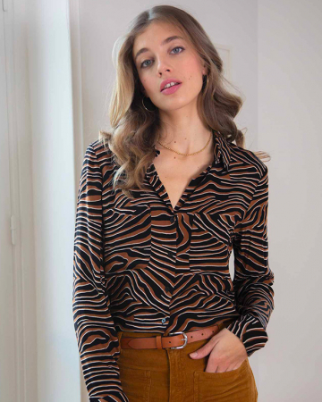 Chemise Milly Argan Moonscape