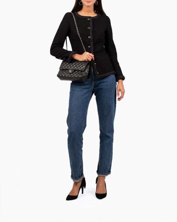 Veste Tweed Noire