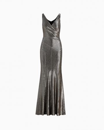 Metallic Sleeveless Dress