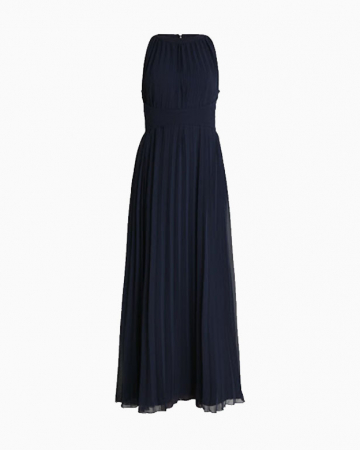 Robe Cocktail Bleu Marine