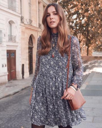 Robe Olivia bleu