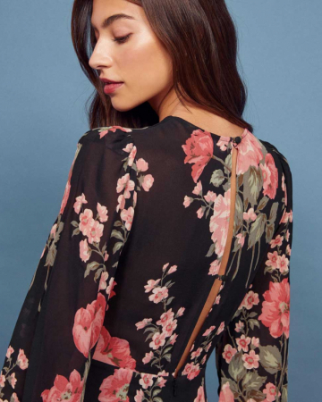 Robe Luanne Floral Print Long
