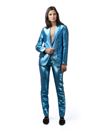 Pantalon Medhi Turquoise