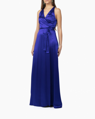 Robe Paola Blue Wrap