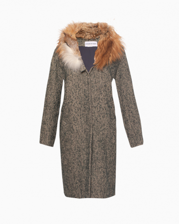 manteau renard