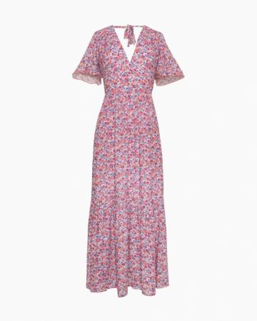 Robe longue fleurie Chloé