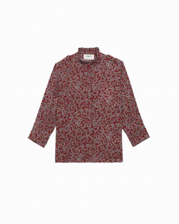 Chemise Catty Rouge