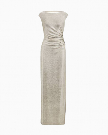 Ivana Metallic dress