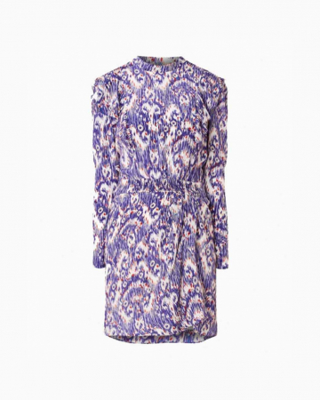 Robe Yoanna Printed Purple