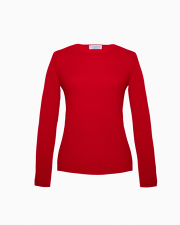 Pull Cachemire Rouge