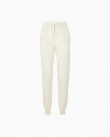 Pantalon Joggy Ecru