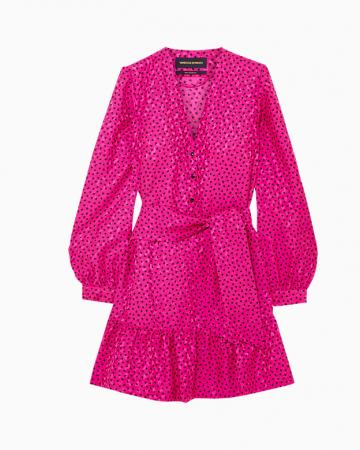 In Silk Dress