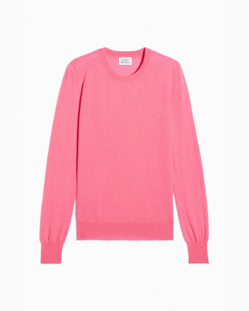 Pull Col Rond Rose