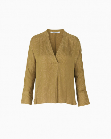 Top Emma Green Khaki