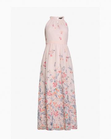 Robe Pastel Pink Halterneck