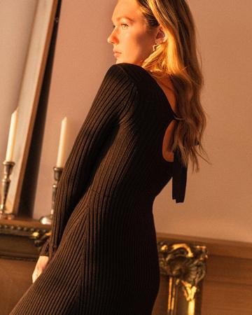 Robe Hazel Noire