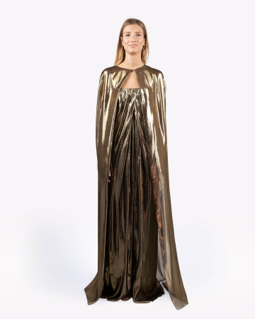 Robe Gold Dress