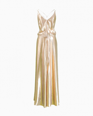 Robe Martine Gold