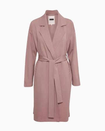 Manteau Classique Rose