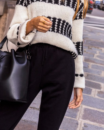 Pantalon Carmen noir