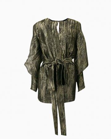 Robe Brodée Gold