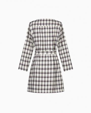 Robe Tweed Ecrue