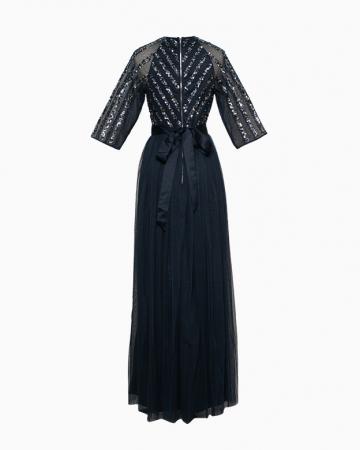 Robe Stripe Sequin