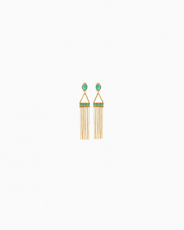 Boucles d'oreilles Gypsy Turquoise