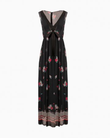 Robe Floral Print