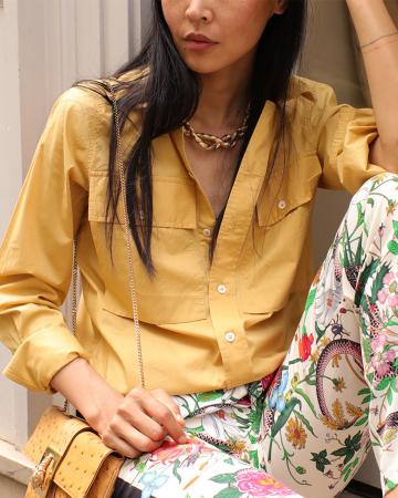 Chemise Safra Yellow